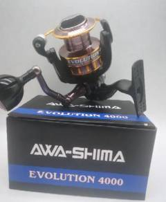 Awa-shima evolution spinning reel 4000
