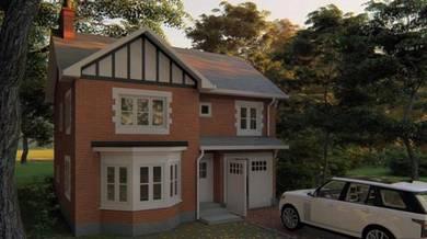 Rumah Dua Tingkat Senibina Inggeris