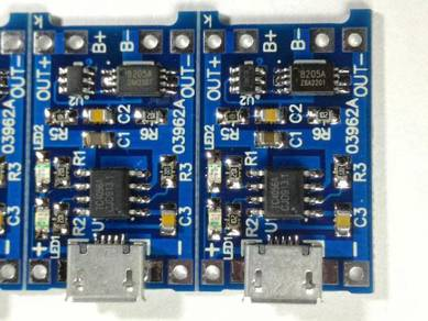 Micro USB 1A 18650 Lithium Battery Charging Board