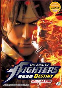 DVD ANIME The King Of Fighters Destiny Vol.1-24 En