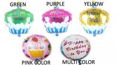 Multicolour Happy Party Supplies Balloons