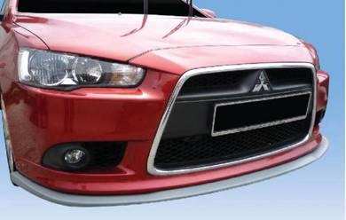 Mitsubishi Lancer X V2 Front V-Lip PU