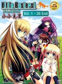 DVD ANIME Little Busters Season 1 Vol.1-26End
