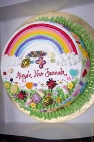 Kek harijadi buttercream kanak-kanak di Alor Setar