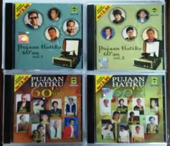 CD Pujaan Hatiku 60'an Vol.1-4