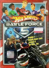 DVD ANIME Hot Wheels Battle Force 5 Vol.7 & 8