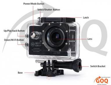NEW GoQ SJ7000 Full HD Sports WiFi Action Camera
