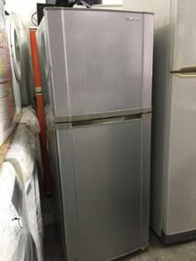 Grey Samsung Fridge Ice Refrigerator Peti Sejuk
