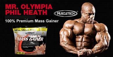 Muscletech premium mass naik berat badan protein