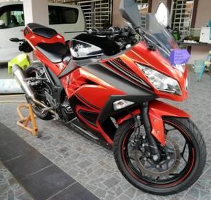 Kawasaki Ninja 250 model 2013 thn 2014
