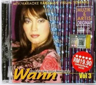 VCD Wann Best of The Best Nostalgia Vol.3 Karaoke