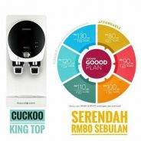 Penapis air cuckoo model kingtop c551