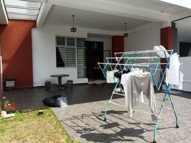 Double Storey Terrace House at Taman Ponderosa Green, Molek