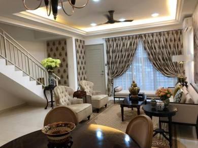 Double Storey Terrace House at Taman Nusa Bayu, Iskandar Puteri