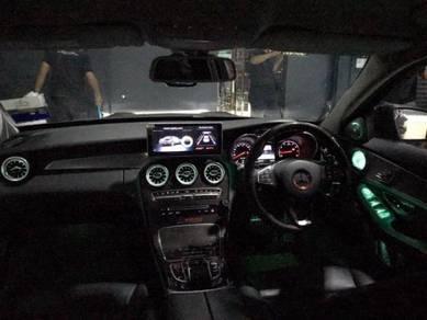Mercedes W205 GLC Burmaster 3D Rotary Speaker