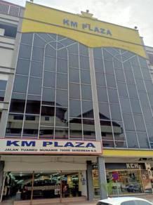 Seremban Town KM Plaza 2nd Floor Big Unit Shop Lot