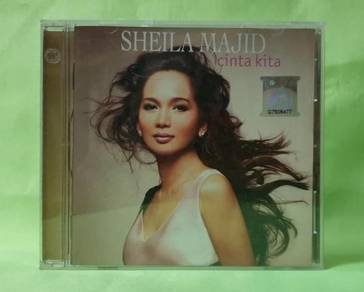 Sheila Majid CINTA KITA 2004 Warner Malaysia CD