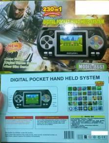 230 in 1 Digital Pocket Games (Mainan Komputer)