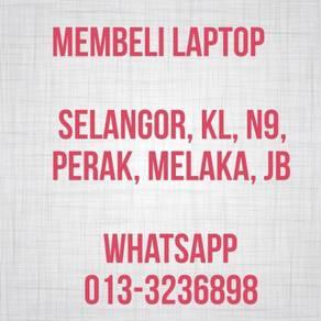 Membeli Laptop 2nd Terpakai KL SLNGR N9 JB