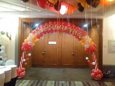Balloon Arch -Pintu Gerbang Belon