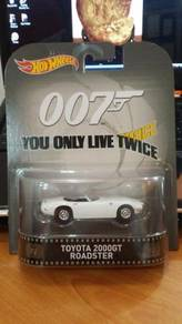 HotWheels Retro 007 Toyota 2000GT Roadster