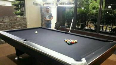 9ft Crown Pool Table Black Edition