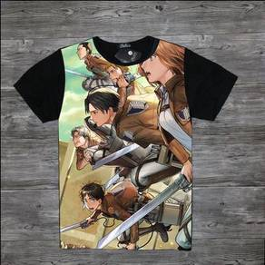 Anime attack of titan t-shirt