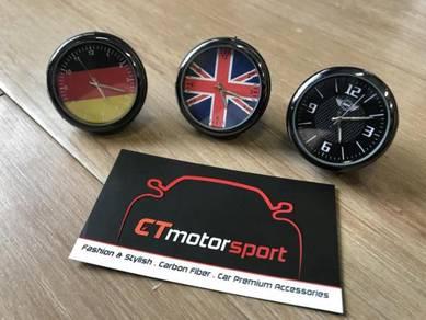 Mini Union Jack German Car Dashboard Pocket Watch