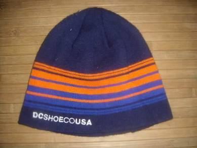 Hat : dc shoes beanie hat