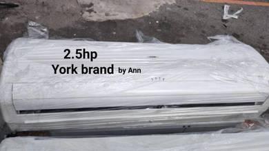 Aircond York brand 1hp,1.5hp,2hp,2.5hp