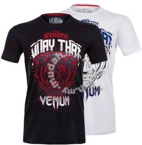 UFC MMA Venum Tiger King Shirt baju slim fit
