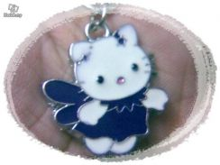 ABPSS-H001 Hello Kitty Pendant Necklace - Purple