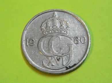Sweden 50 Ore 1980