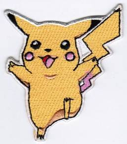 Pokemon Pikachu Cartoon Embroidered Patch