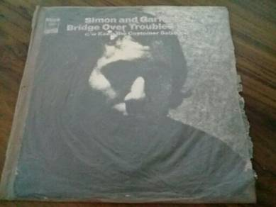 EEQ Ep simon garfunkel piring hitam vinyl