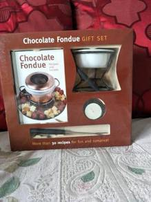Chocolate fondue gift set