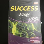 SUCCESS Biology SPM