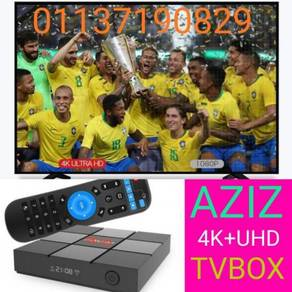 4K ANDROID TV BOX All FRE+preinstal COMPLETE BOX