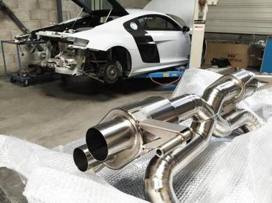 AUDI R8 V8 exhaust header extractor SET