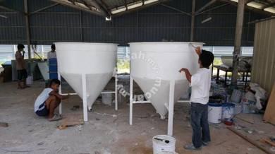 Fiberglass Tank ( Aquaculture )