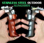 Adjustable Stainless Steel Slingshot | Lastik