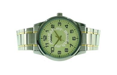 Casio Men Stainless Steel Watch MTP-V001SG-9BUDF