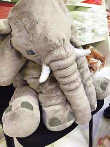 Elephant Soft Toy Patung Bantal Gajah Size L