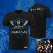 BAJU WWE T Shirts The Shield United Shield Reunion
