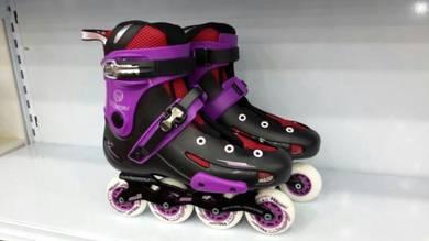 BRANDED Purple rollerblade offer kanak & dewasa