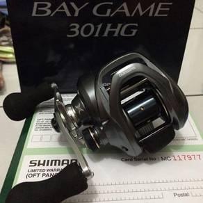 SHIMANO BAYGAME 301 / 301HG Fishing Casting Reel