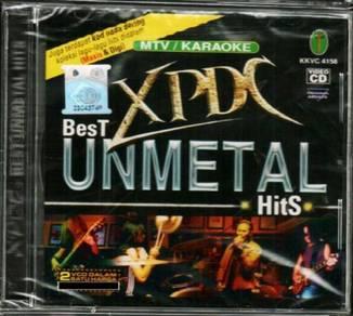 VCD XPDC Best Unmetal Hits MTV Karaoke 2VCD