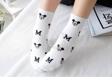 Kawaii Disney Sock 100% Made in Korea