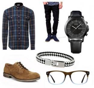Peniagaan Atas Talian Aksesori Fesyen Lelaki