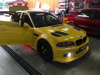 Bmw faceleft e46 m3 m-sport front conversion set